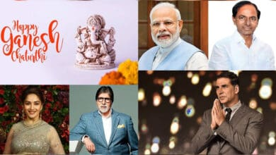 Photo of Ganesh Chaturthi 2020: Celebs, politicians extend festival greetings