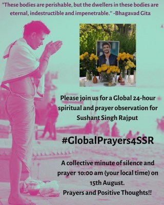 #GlobalPrayersForSSR trends, Ramdev does havan, Ankita calls late actor Miracle-Man