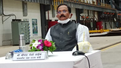Photo of Union minister Shripad Naik tests positive for COVID-19 opts for home isolation
