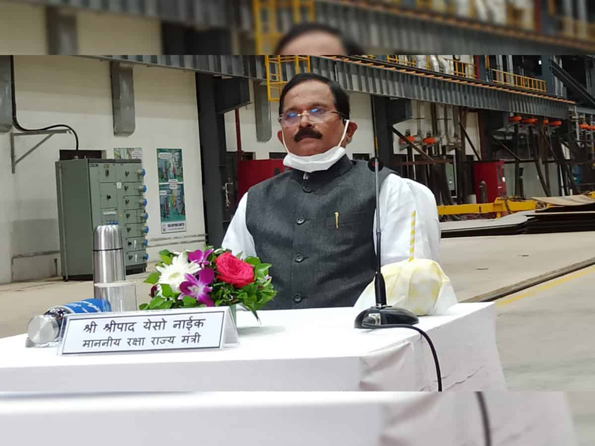 Union minister Shripad Naik tests positive for COVID-19 opts for home isolation
