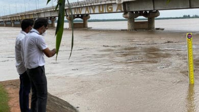 Photo of Incessant rains in Telangana, Godavari flows above danger mark