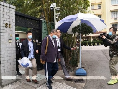 HK media mogul arrested over suspected foreign collusion