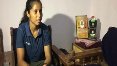 Photo of Junior Women's Hockey player Ishika Chaudhary wins Eklavya Award