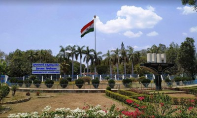 Hyderabad University among top 10 in Centre's ARIIA ranking