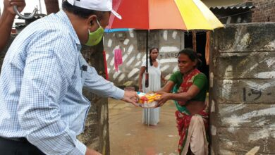 Photo of Essential commodities, fruits and ration kits distributing among Rain affected peoples