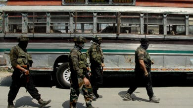 Militant attack in Srinagar