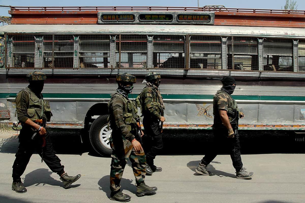 Militant attack in Srinagar