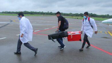 Photo of Organ airlifted from Pune to Hyderabad, even in these difficult times