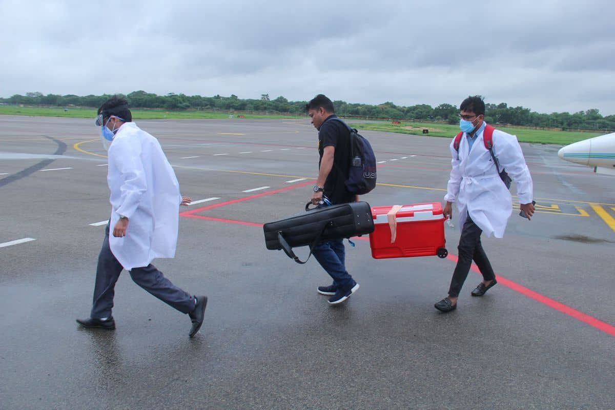 Organ airlifted from Pune to Hyderabad, even in these difficult times