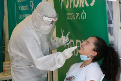 Israel reports 447 new Covid-19 cases; 92,680 in total
