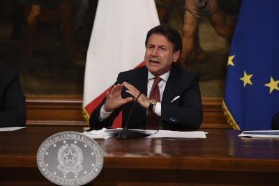 Italy PM defends government's handling of coronavirus pandemic