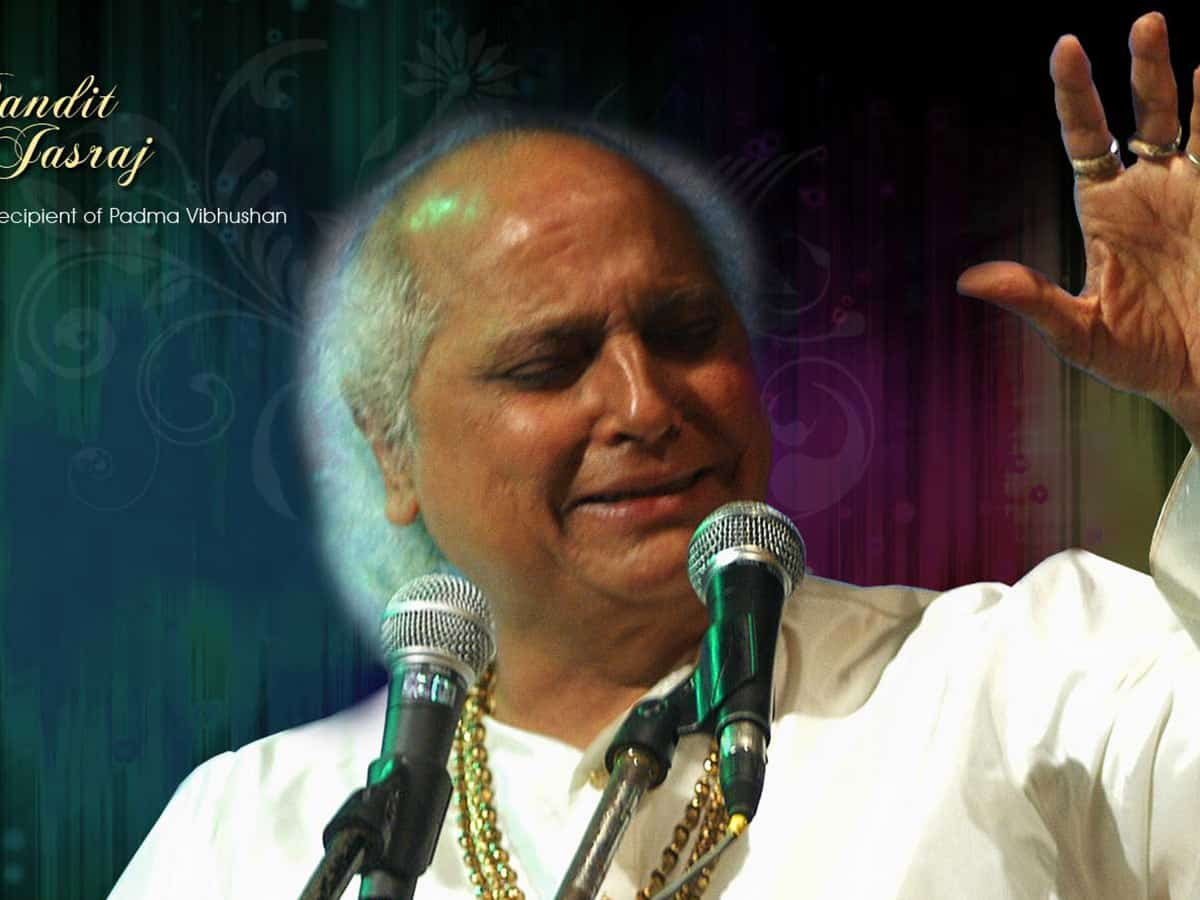 Pandit Jasraj's father was court singer of Seventh Nizam; he learnt his music basics in Hyderabad