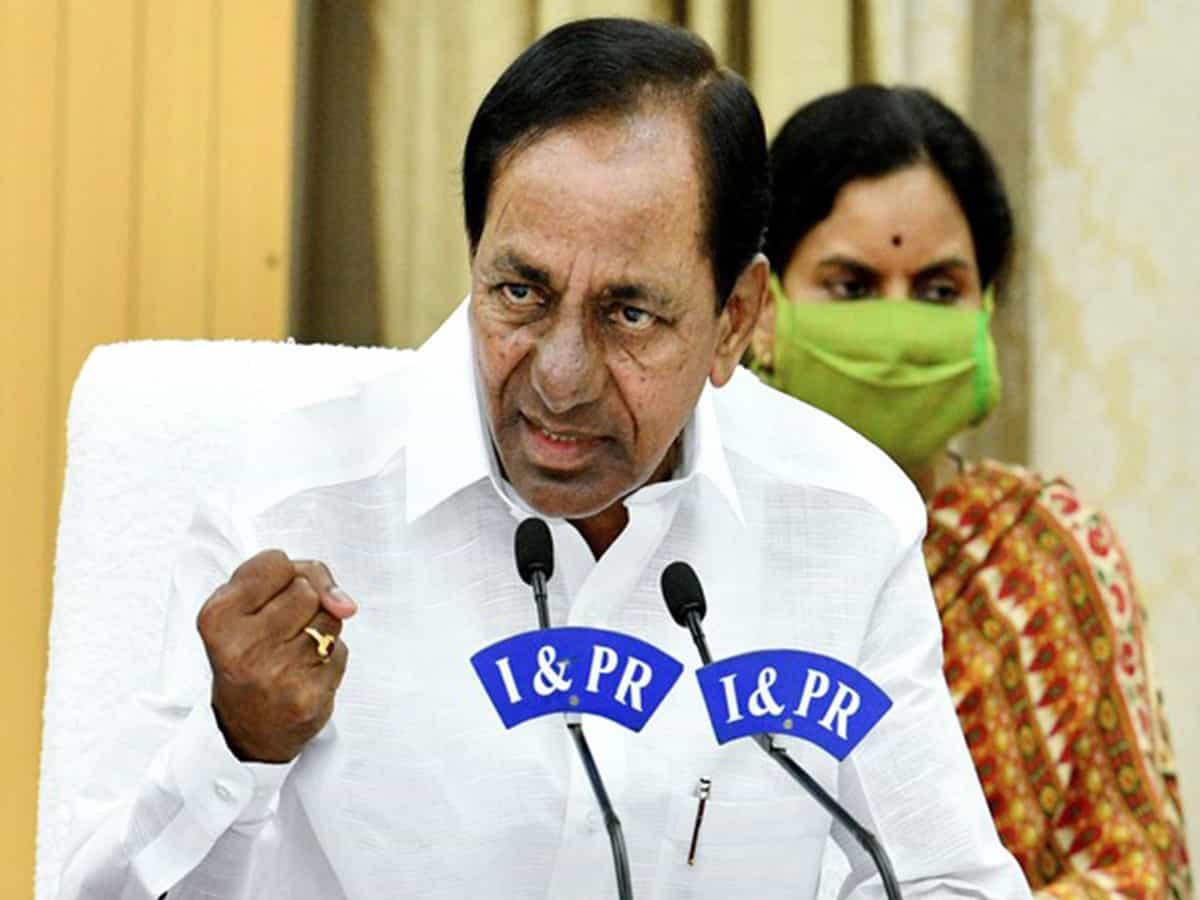 Telangana CM lauds MAUD, electricity dept personnel for good work despite heavy rains