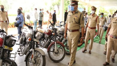 Photo of 1.5 crore worth stolen bikes seized from 3 gangs