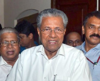 Kerala CM slams Cong for spreading canards against Covid battle