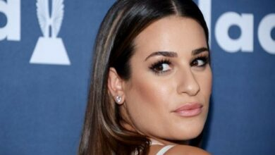 Photo of Lea Michele welcomes son with husband Zandy Reich