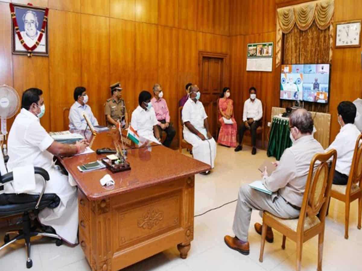 COVID-19: Tamil Nadu receives over Rs 500 crore from Centre , says CM