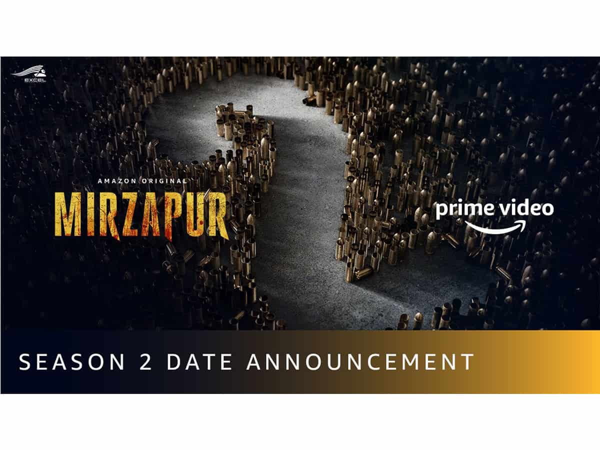 Second season of 'Mirzapur' to launch on October 23 on Amazon Prime Video