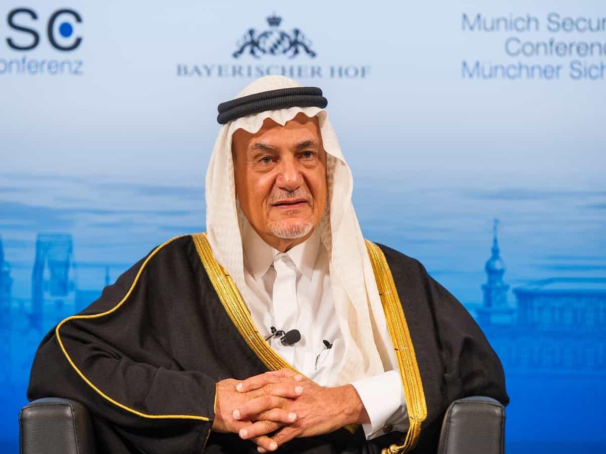 Prince Turki al-Faisal is a former ambassador to Washington and ex-intelligence chief