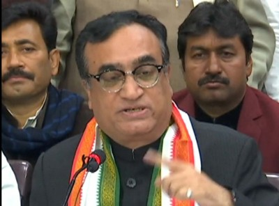 Maken replaces Pande as Rajasthan Congress in-charge