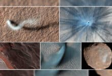Photo of Mars Reconnaissance Orbiter's views from above