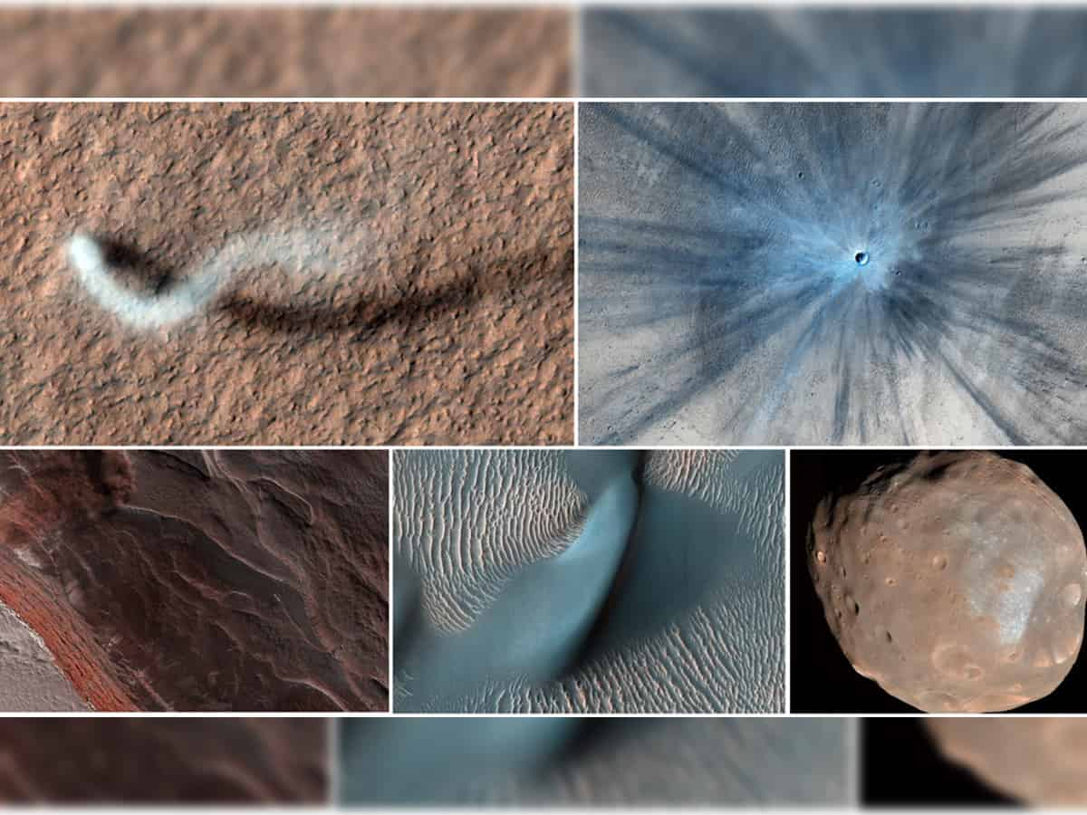 Mars Reconnaissance Orbiter's views from above