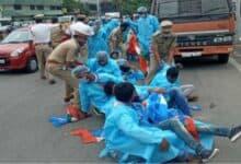 Photo of NSUI leaders get bail in Pragathi Bhavan protest case