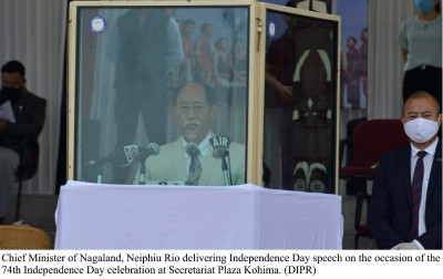 Nagaland CM for early solution to Naga political issue