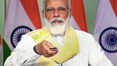 Photo of PM Narendra Modi inaugurate two Ayurveda institutes