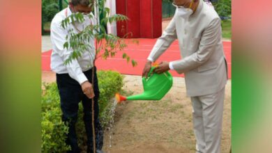 Photo of President Kovind celebrates 'Van Mahotsav'