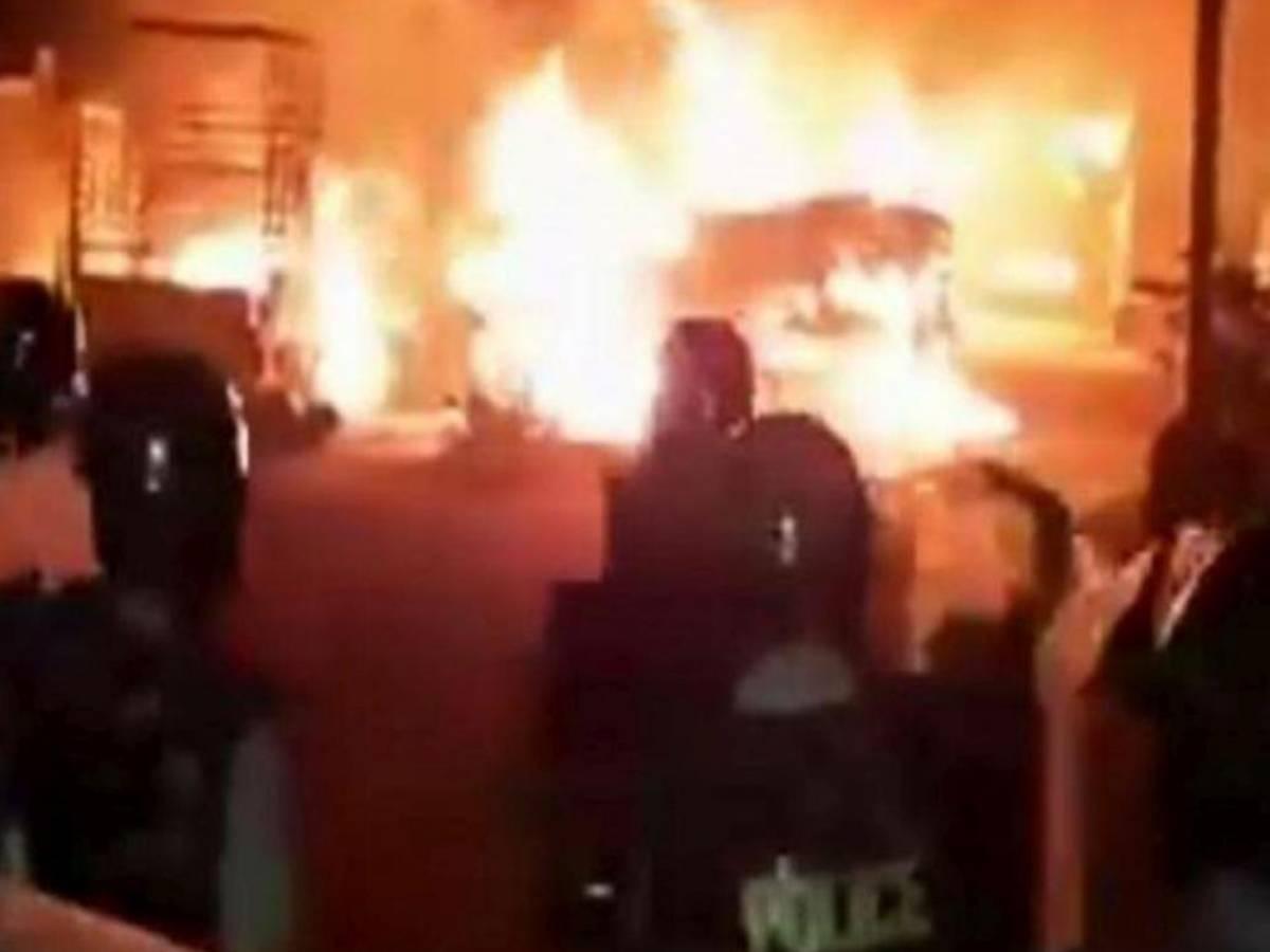 Violence in Bengaluru over 'derogatory' social media post
