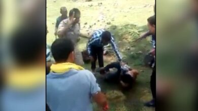Photo of J&K: Muslim man beaten by a mob for chasing cows from field