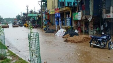 Photo of Illegal constructions, Nala encroachments led to floods in Karimnagar