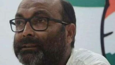 Photo of UP Congress chief detained again