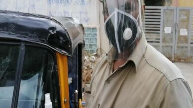 Photo of Fearless autorickshaw driver turns hero for COVID-19 patients