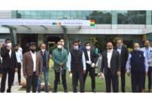 Photo of Harish Rao inaugurates JITO-Corona Care Center containing 100 beds