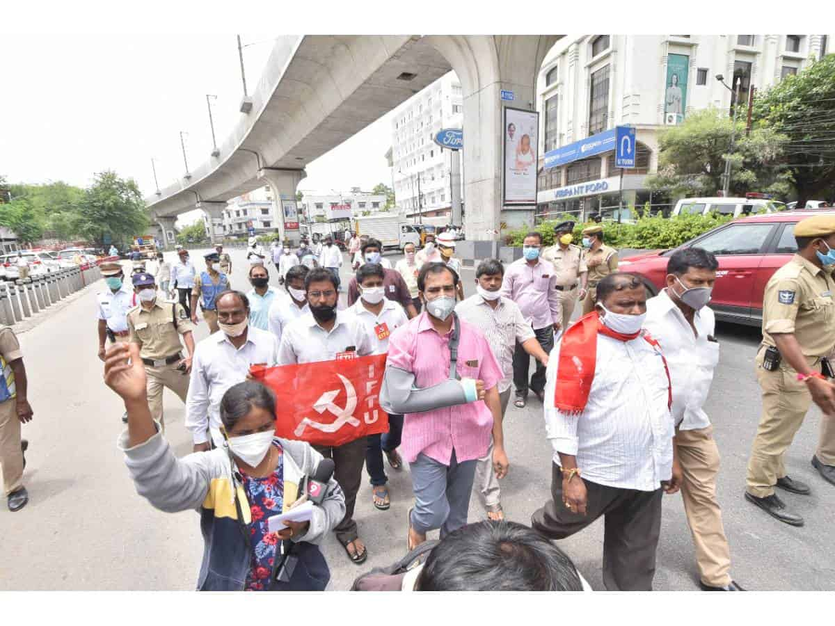 Indian Federation of App-based Transport Workers to support National Protest Day