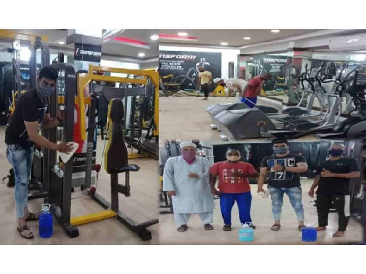 Gyms in Hyderabad witness less footfalls