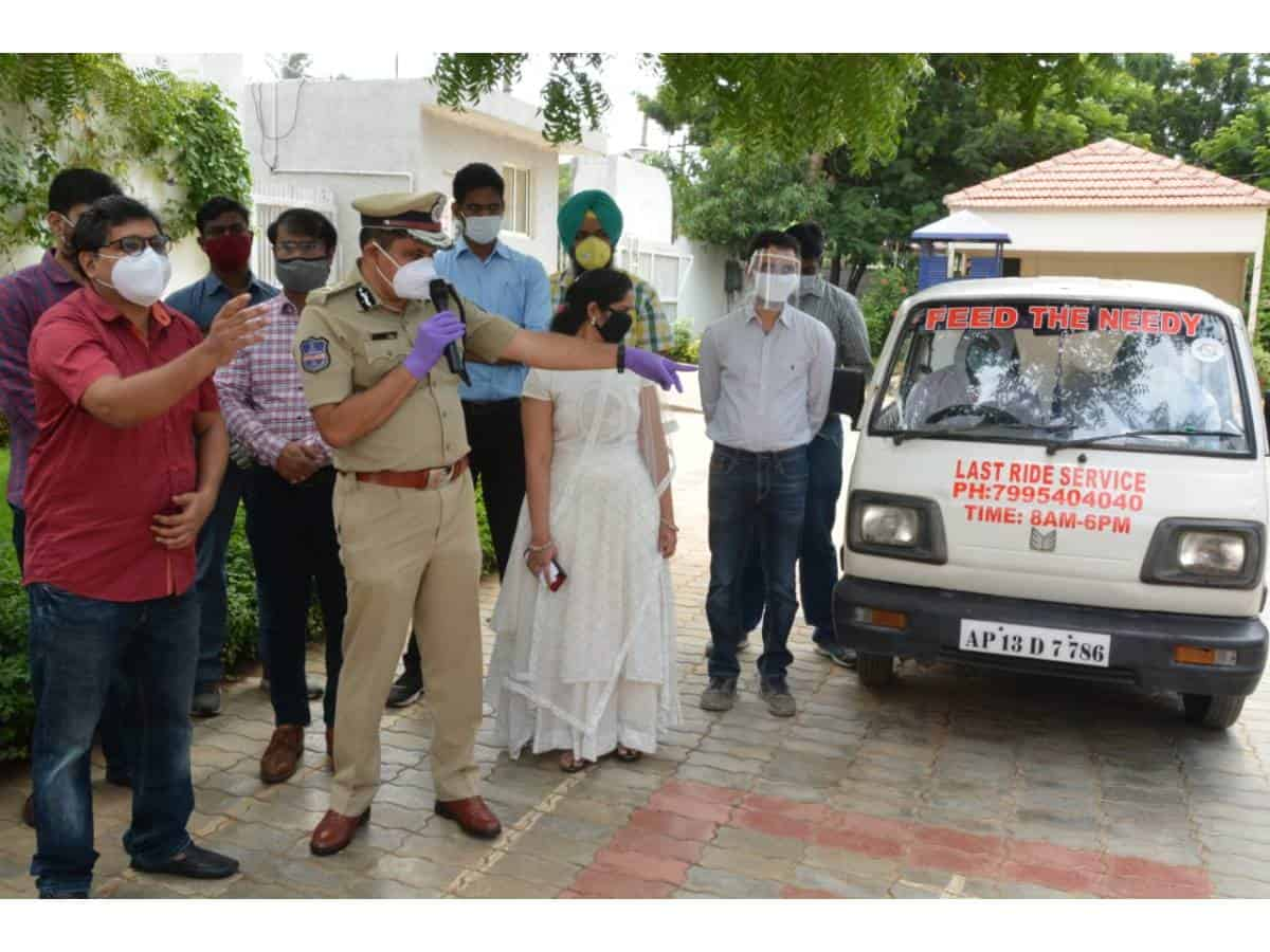 Rachakonda PS starts free funeral vehicle service for COVID patients