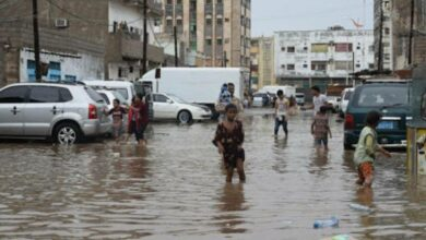 Photo of Heavy rains in Yemen destroyed Sana's ancient homes