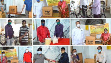 Photo of Freemasons of Telangana help needy to restart their petty businesses
