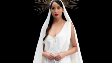 Photo of Nora Fatehi's look in 'Pachtaoge' female version out
