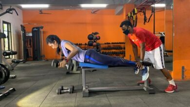Photo of Happy to resume full-fledged gym session: PV Sindhu
