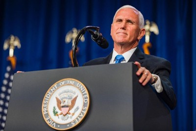 Pence accepts Republican VP renomination with nationalist speech (Ld)