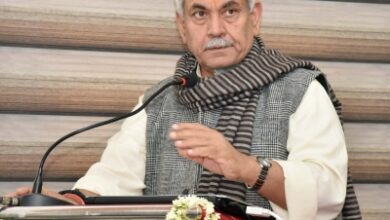 Photo of Political workers, Panchayat members to be provided better security: J&K L-G
