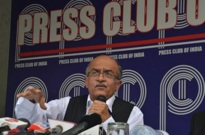 'Politically motivated activism': Ex-judges, CEC counter pro-Bhushan lobby
