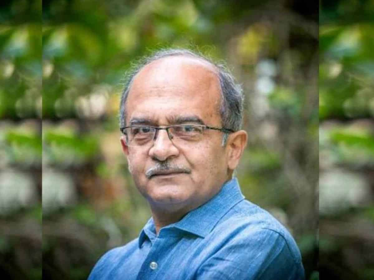 CJI is not SC, Prashant Bhushan responds to the contempt notice