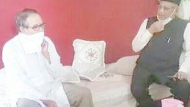 Photo of Chairman Minority Commission meets AE Uzma Fatima's parents