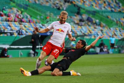 RB Leipzig stun Atletico Madrid to reach Champions League semis