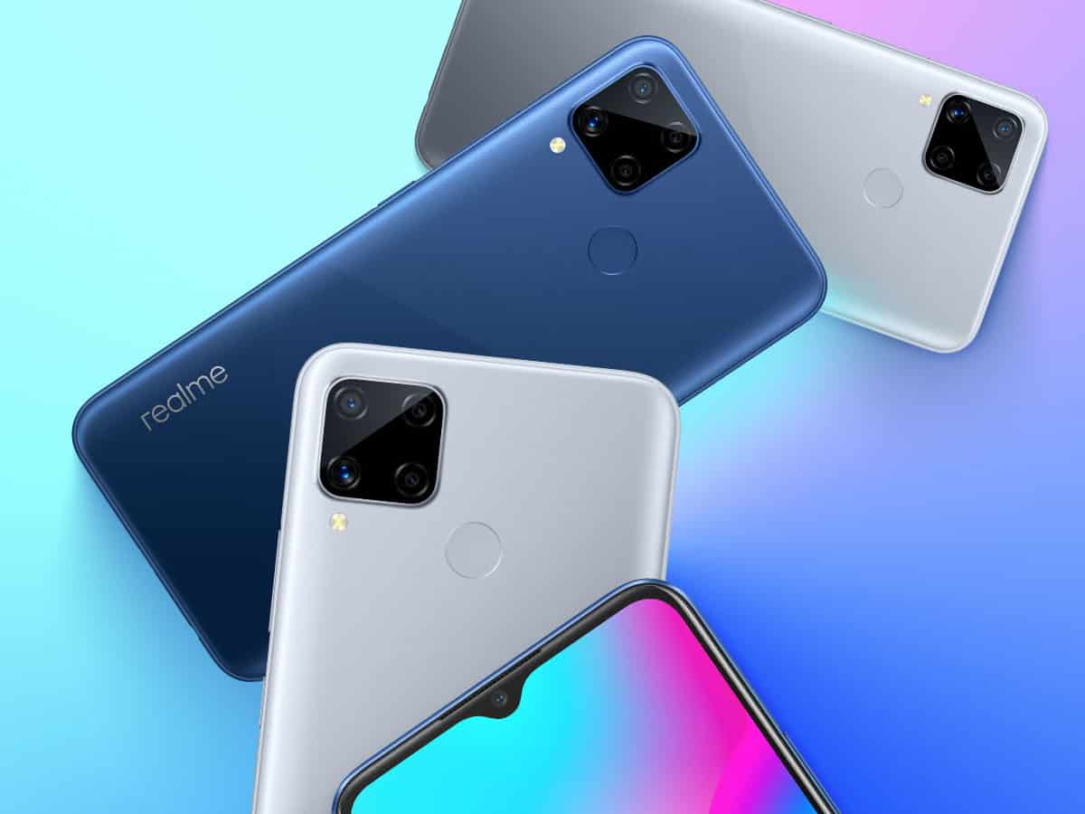 Realme launches C15, C12 budget smartphones in India